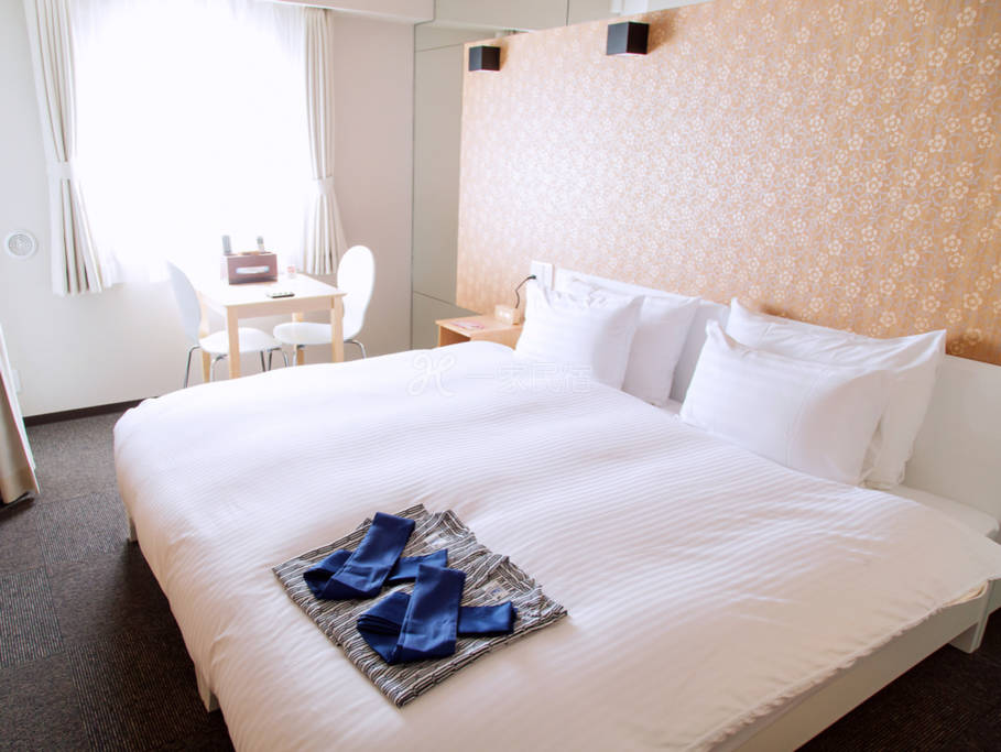 京都市中心交通便利!和风温馨大床房302