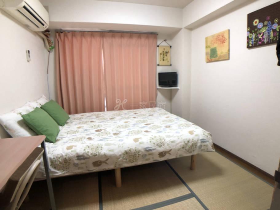 温馨舒适双人房(5)位於黒门市场/中文日