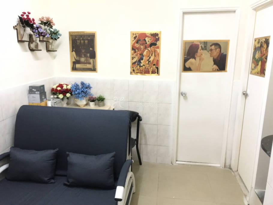 旺角地铁站朗豪坊旁边两房一厅两厕所 干净