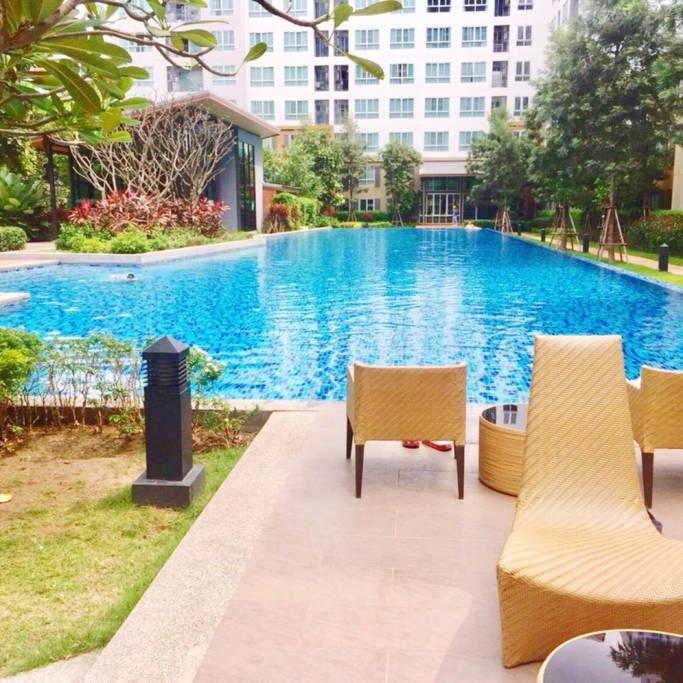 清迈市中心高端泳池公寓