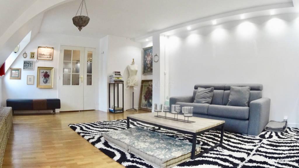 商业区黄金地段55M2设计师轻奢公寓