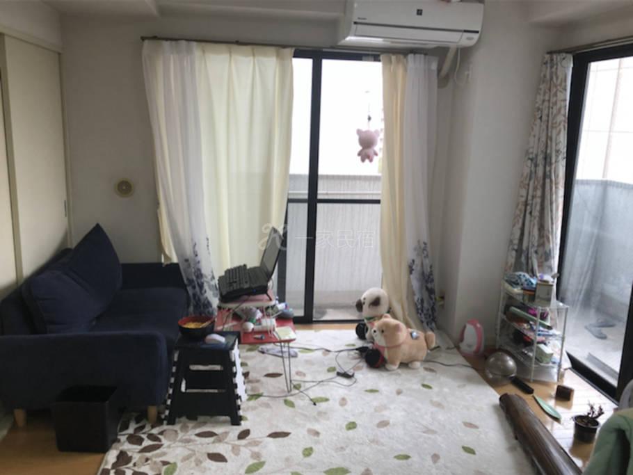 新宿区早大正门口 留学生自宅套间短租