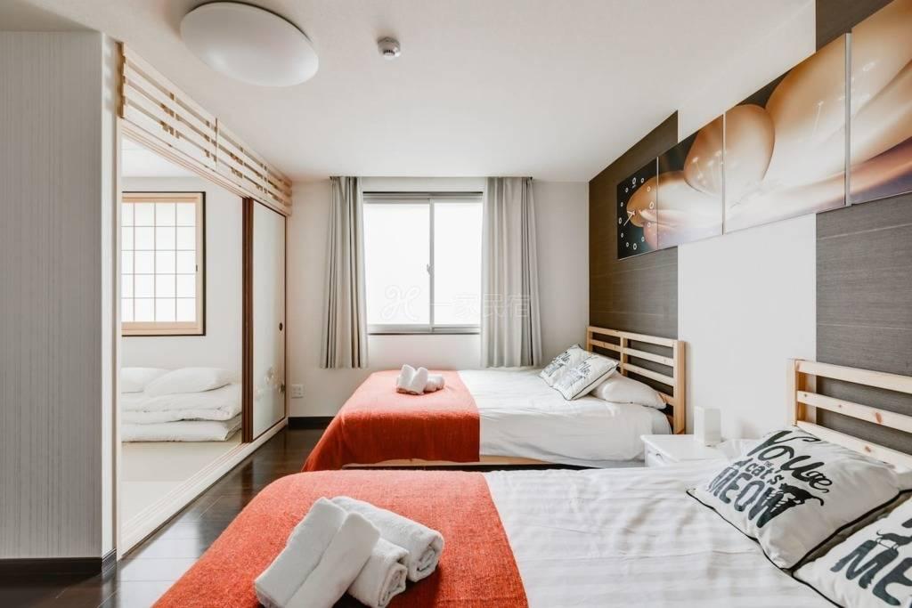 【401房间】一层一套房,难波超大房独立卫浴步行5分高岛屋