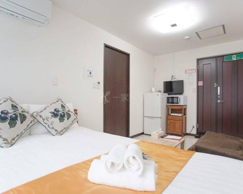 【201房间】 难波高岛屋步行5分机场直达 独立卫浴好房 一层仅2房 人少