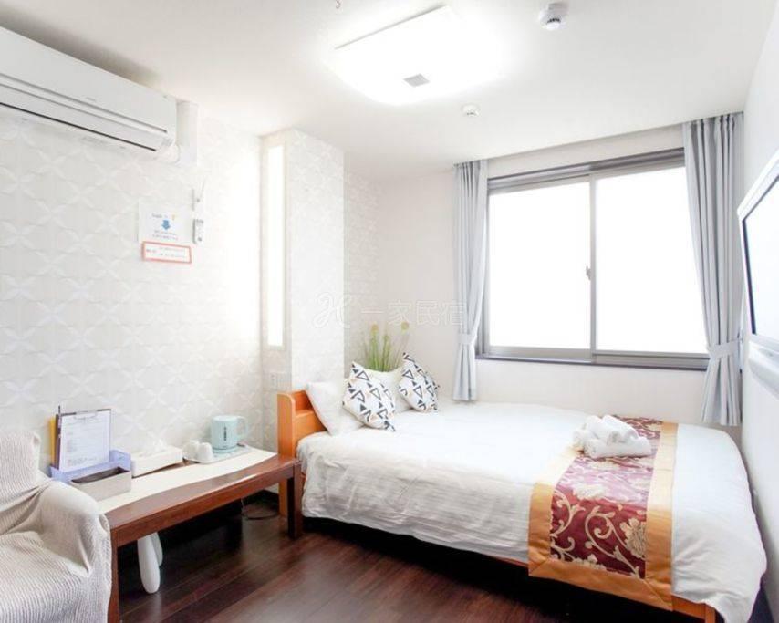 【301房间】 难波高岛屋步行5分机场直达 共用卫浴 高性价比 一层仅2房 人少