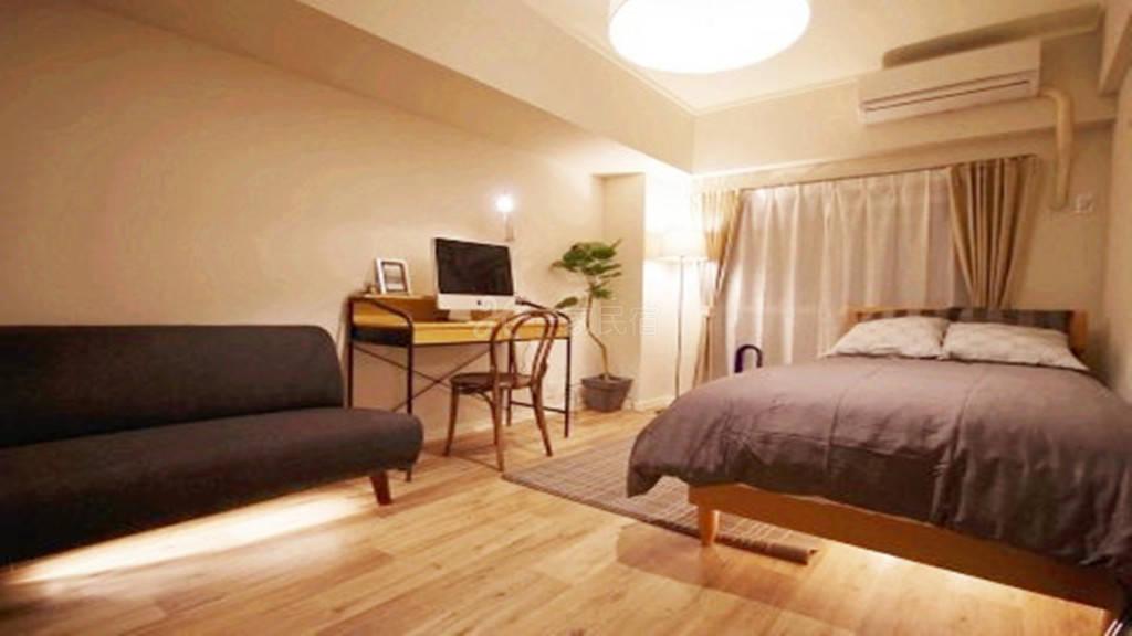 新宿中心 中央公园旁地铁3分整租全新精装公寓