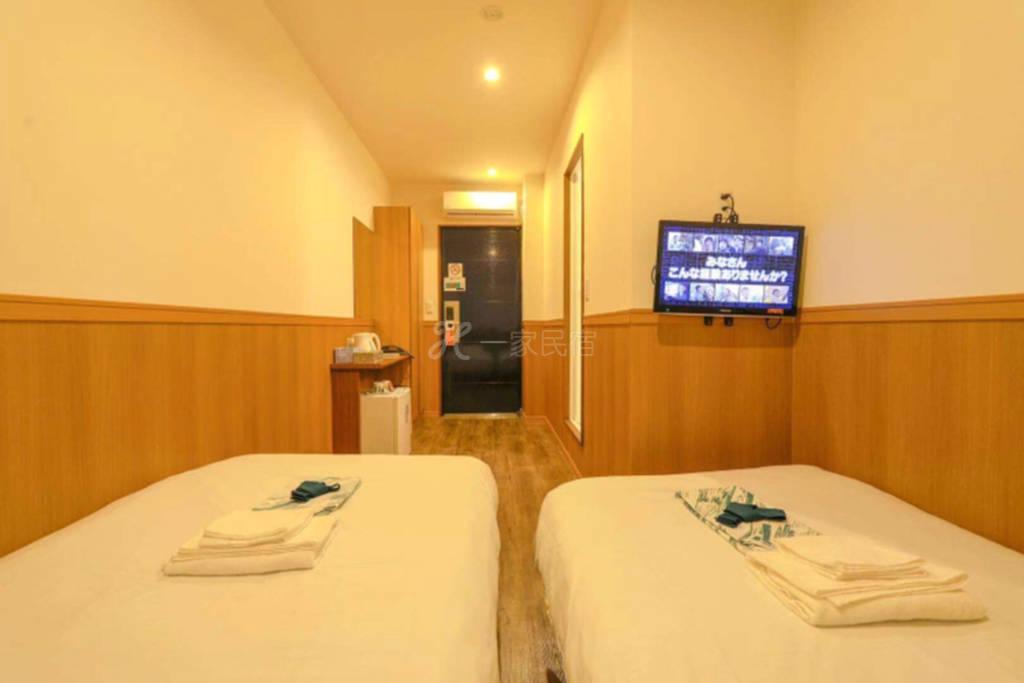新世界前naniwa hotel双床间 #1