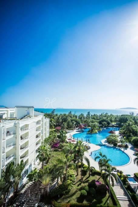 三亚湾椰梦长廊免费温泉泳池大床房非海景