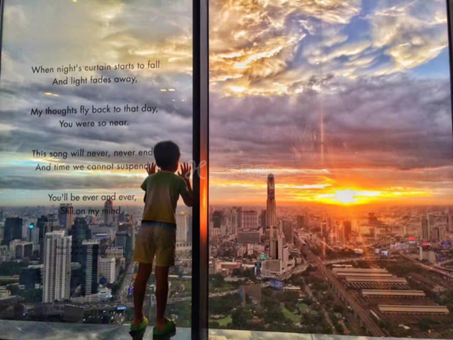 Downtown high rise 53 層豪華公寓 享受360度市中心極致美景和便利的交通