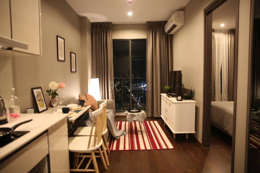 Ekkamai区高端公寓/完美夜景/免费泳池