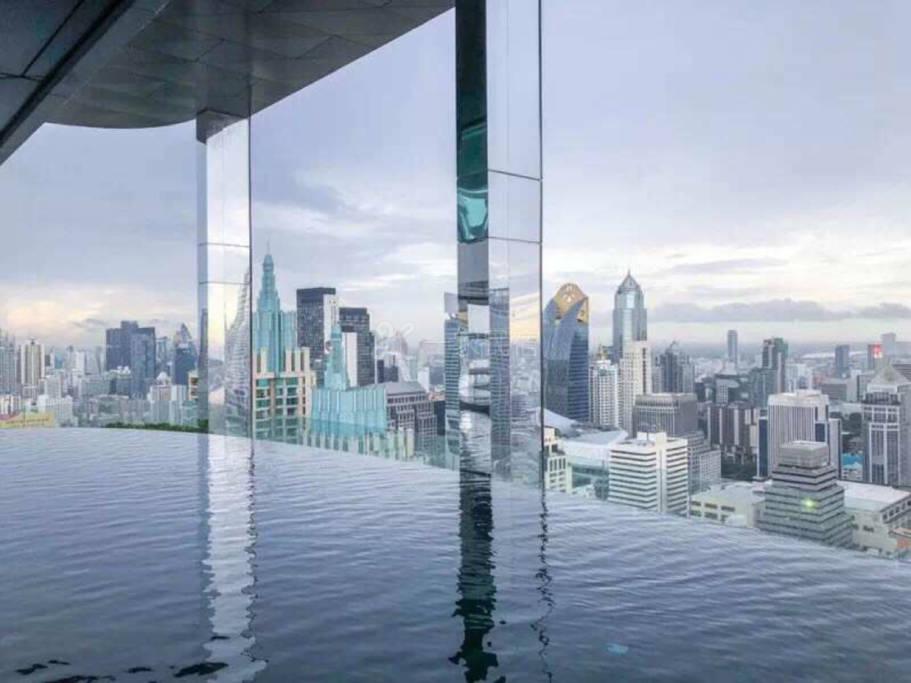 曼谷市中心、无边泳池、网红轻奢、高端公寓