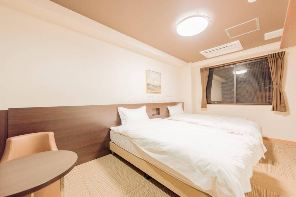 京都市区酒店双床房★24小时中文前台★十条站步行4分钟★2站即到京都站