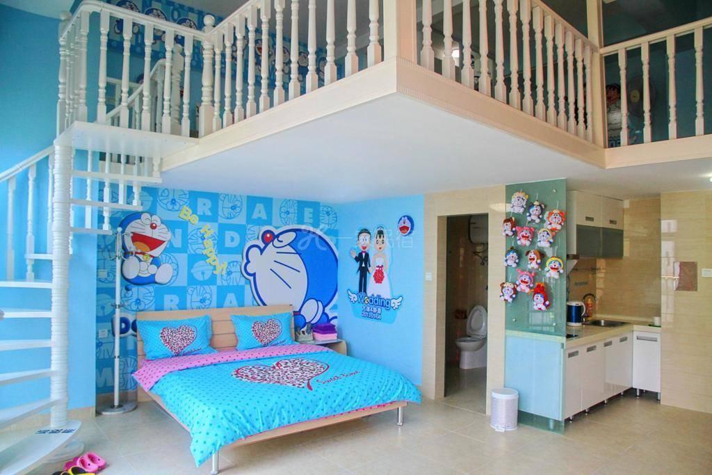 枫传说三亚湾主题园景(复式)家庭房