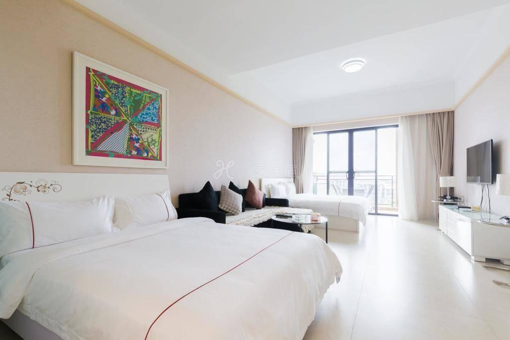 海口合和居度假公寓雅致双床房
