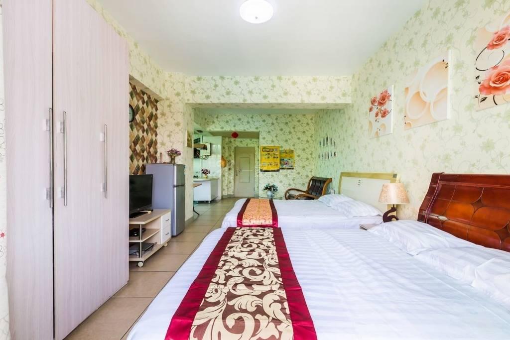三亚蓝海港湾独立一室一厅度假三人房