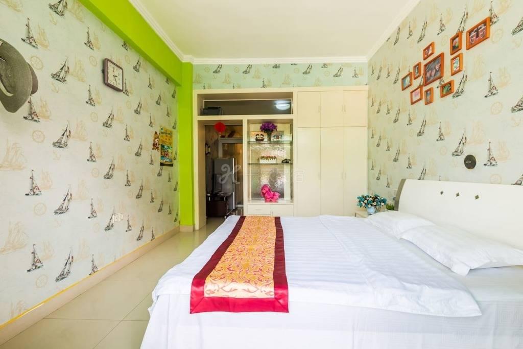 三亚蓝海港湾近海独立一室一厅浪漫套房