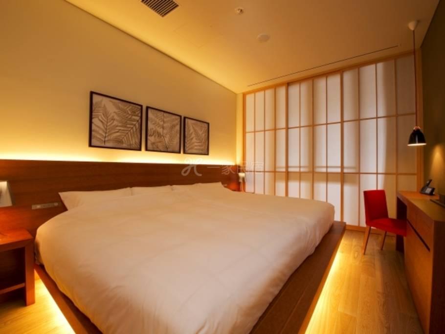 京都感洛饭店别邸ACTUS Room(禁烟)【附早餐】体验京都季节的趣味之感洛饭店和风早餐方案
