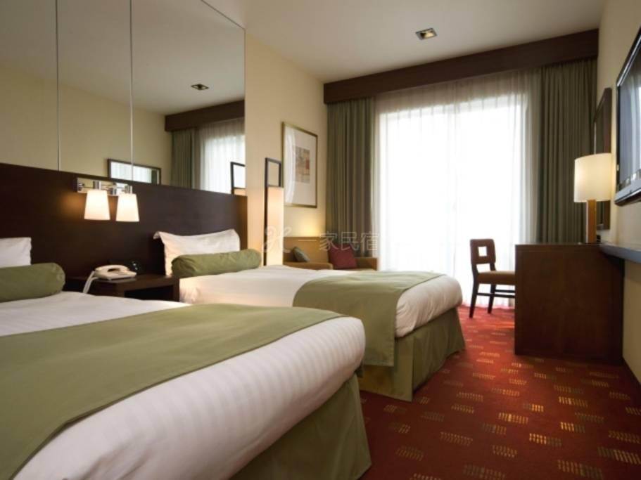 新・都酒店【South Wing】双床房<吸烟>1名Relux会员特别方案含早餐