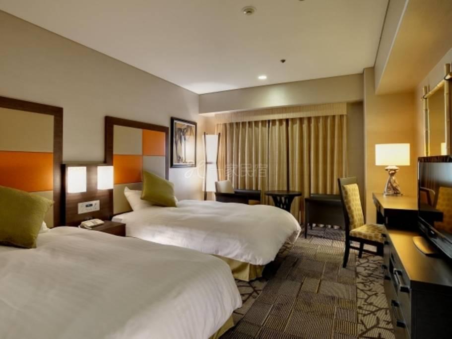 新・都酒店【顶级楼层】标准双床房<禁烟>1名Relux会员特别方案仅住宿