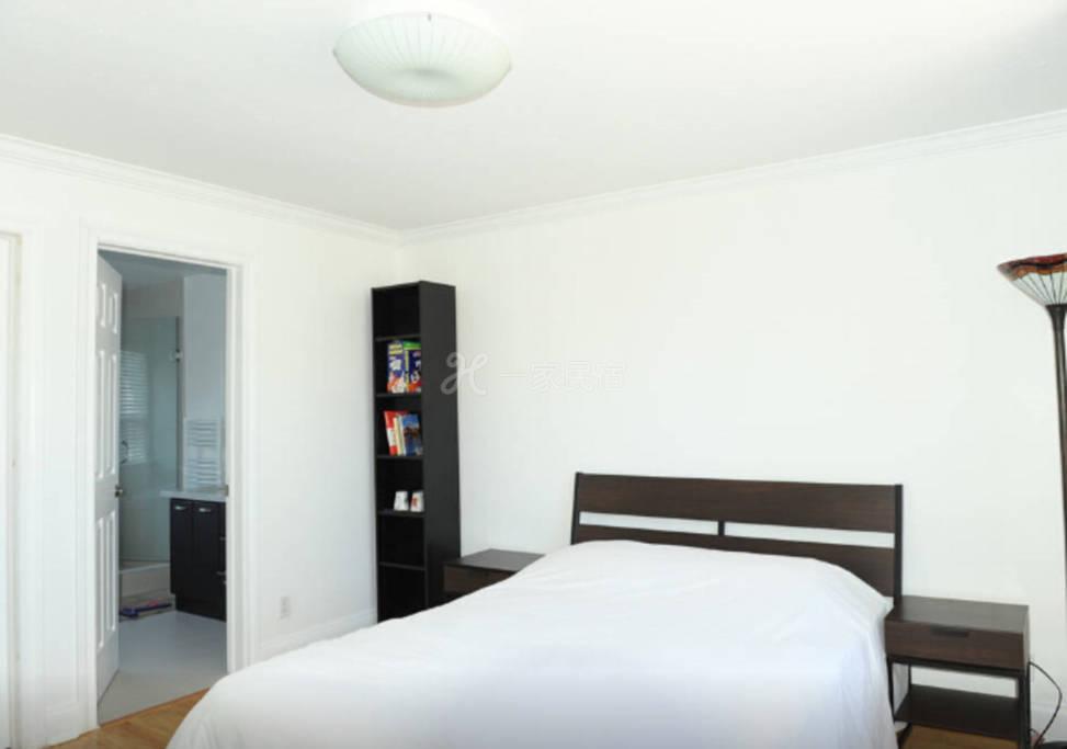 温暖茹家-多伦多北约克舒适大床套房