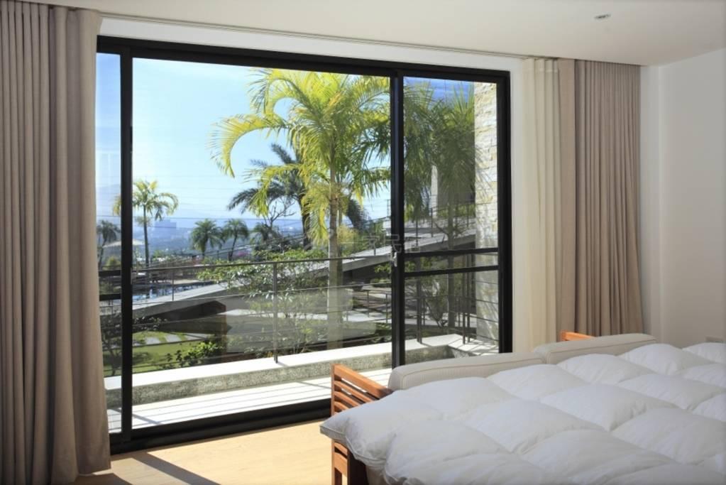 台湾嘉义 泰勒瓦庄园会馆民宿 美式温馨风格 大床房