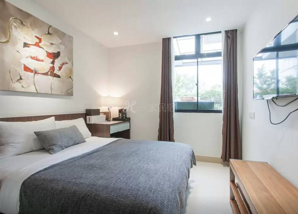 新加坡沿海豪华别墅 4号房 豪华双人套房