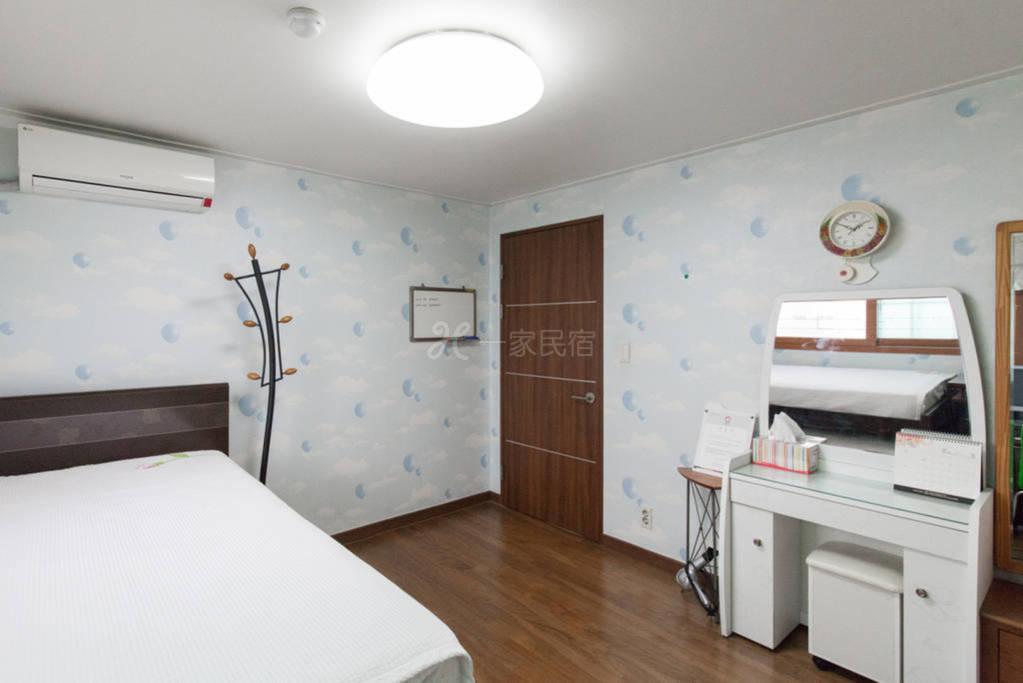首尔  政府认证  民宿房间1  可免费试穿韩服