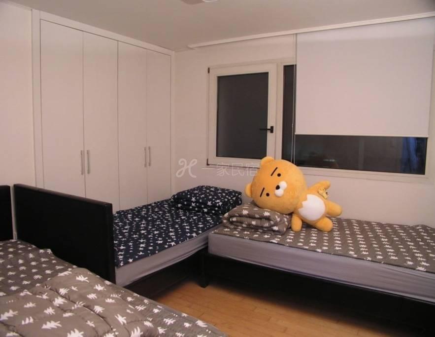 在新沙洞和Garosugil 1房美丽公寓