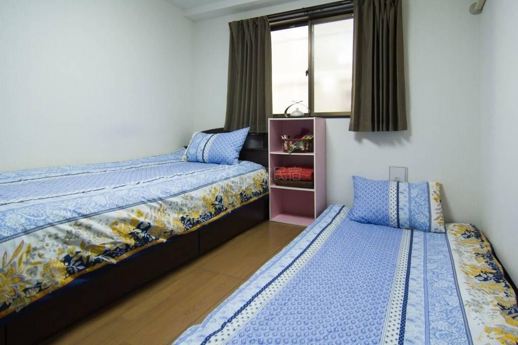 东京温馨二人双床房B(单人床*2 可加床