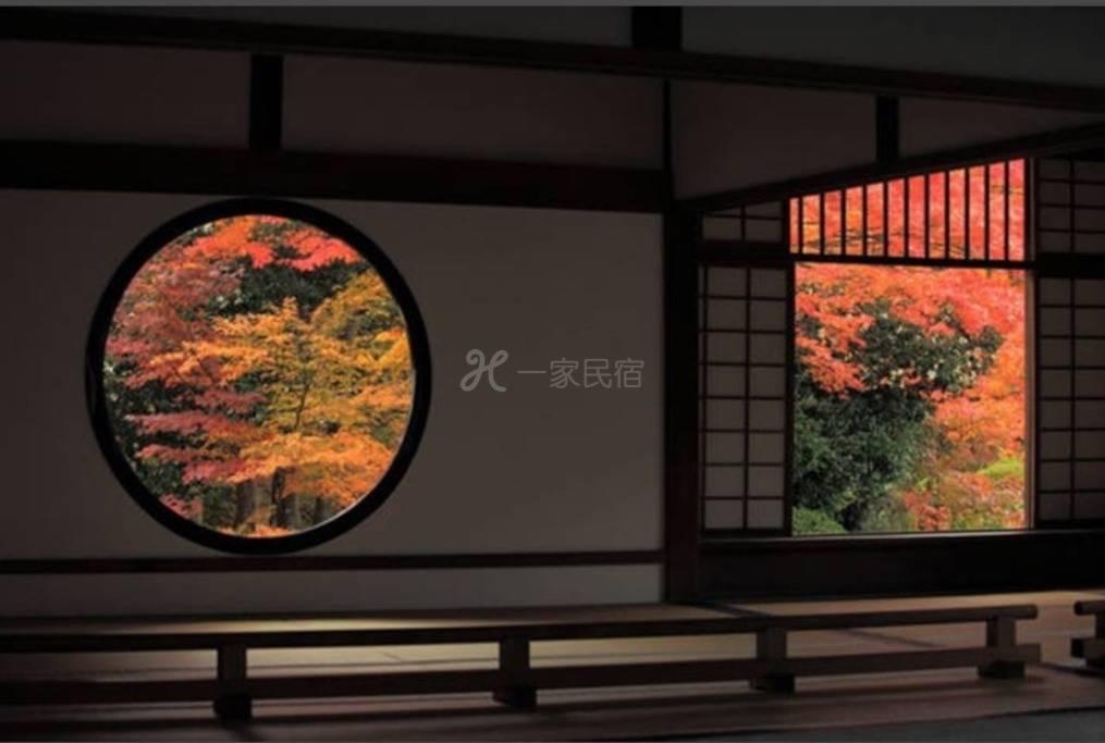 京都和风庭院,近最美红叶景点《永观堂》