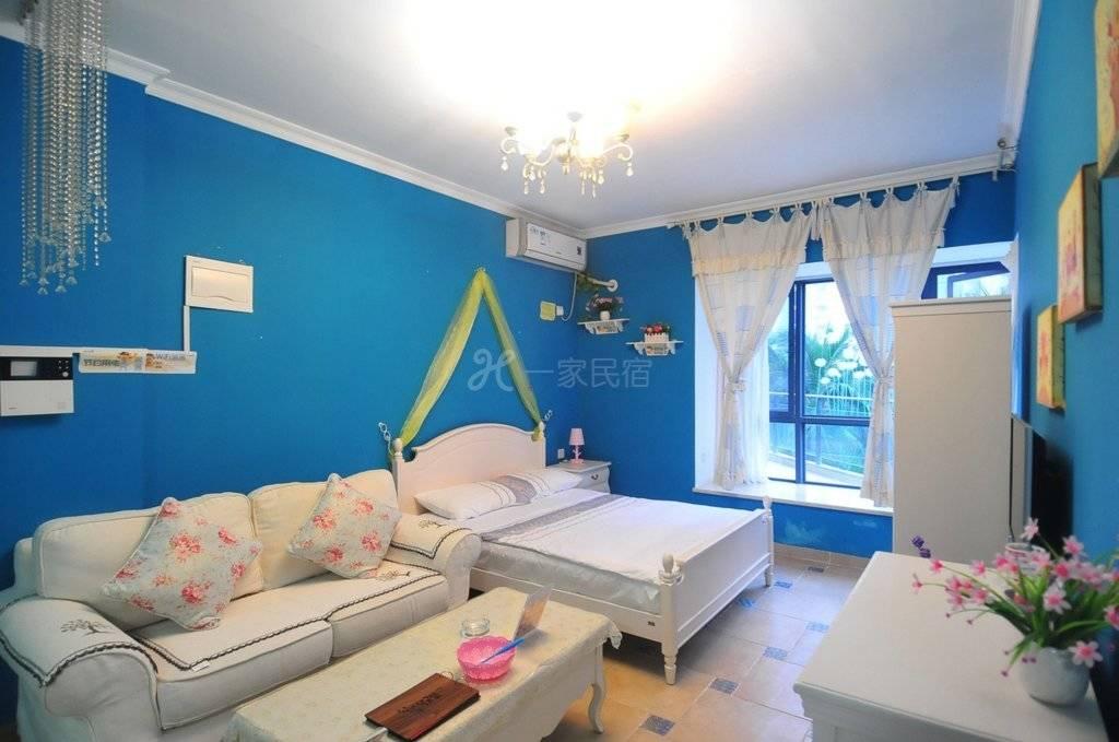 三亚湾中段椰梦长廊旁交通便利的滨海温馨房间