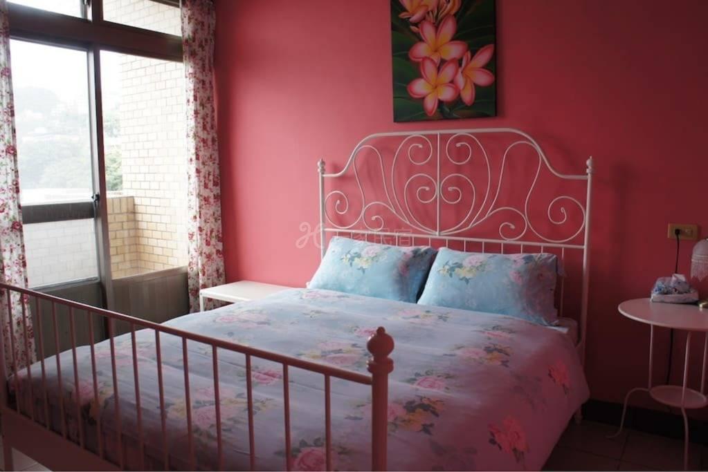 【红房】九份厨神的家Villa115民宿(双人雅房)Jiufen,Taipei