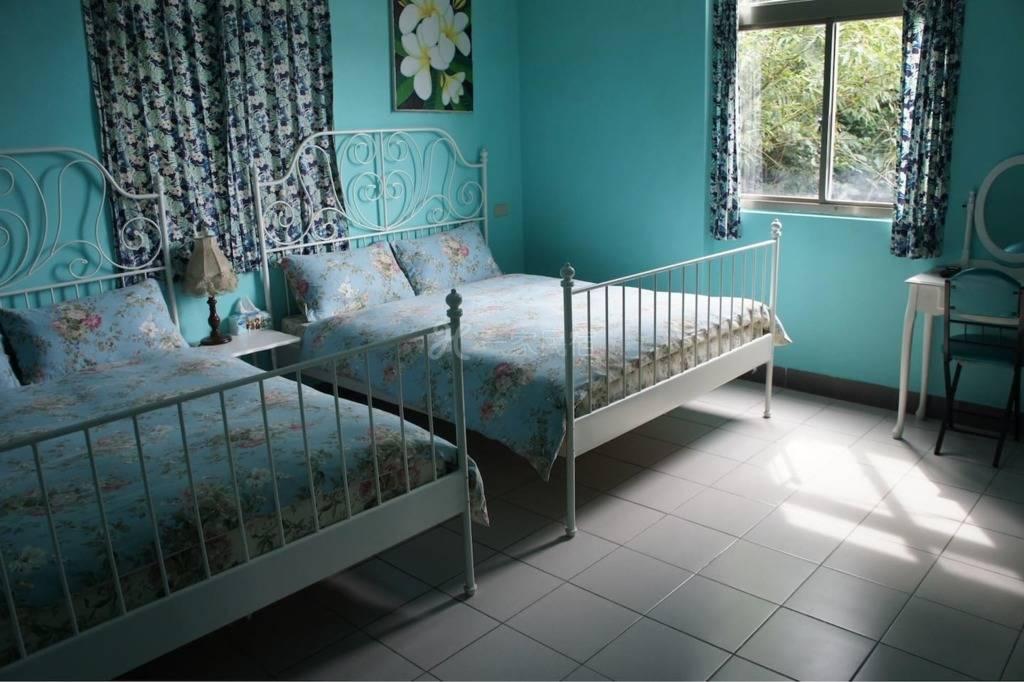 【蓝房】九份厨神的家Villa115民宿(四人雅房)Jiufen,Taipei