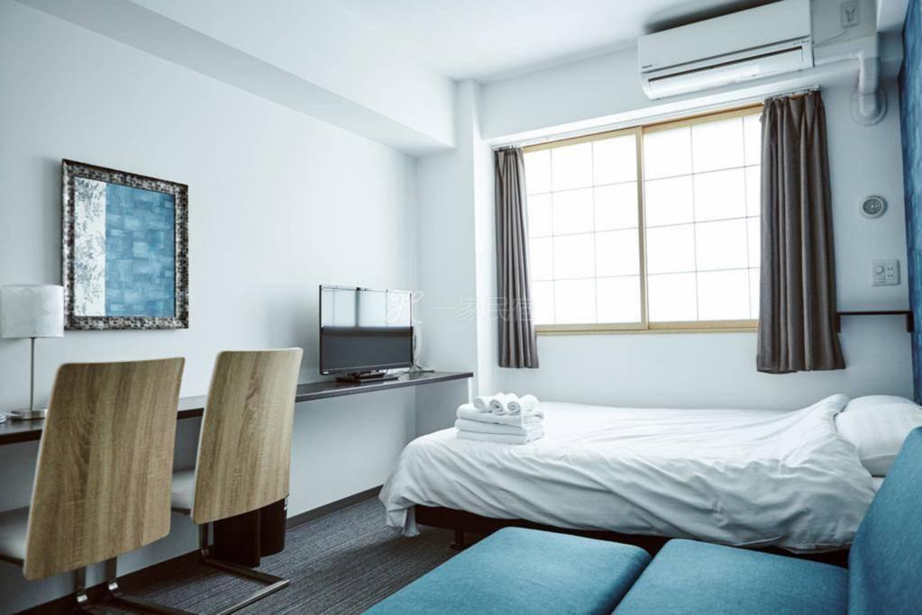 Hotel She Kyoto双人间 - 带沙发床和厨房