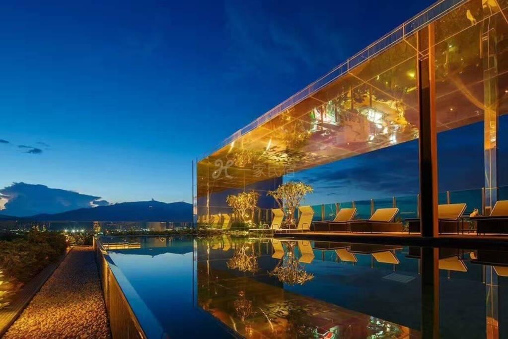 遇见清迈丨豪华50平米超大楼顶无边泳池花园度假套房+免费接机哦