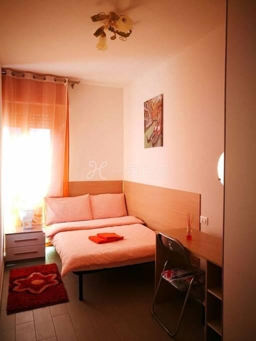 威尼斯Mestre火车站小型双人房间