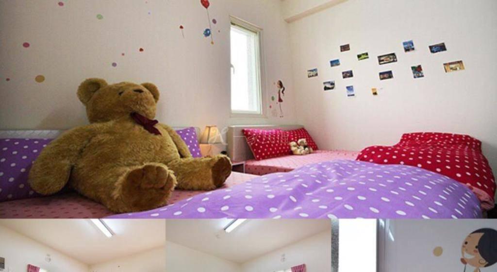 客房(双床)-带公共浴室