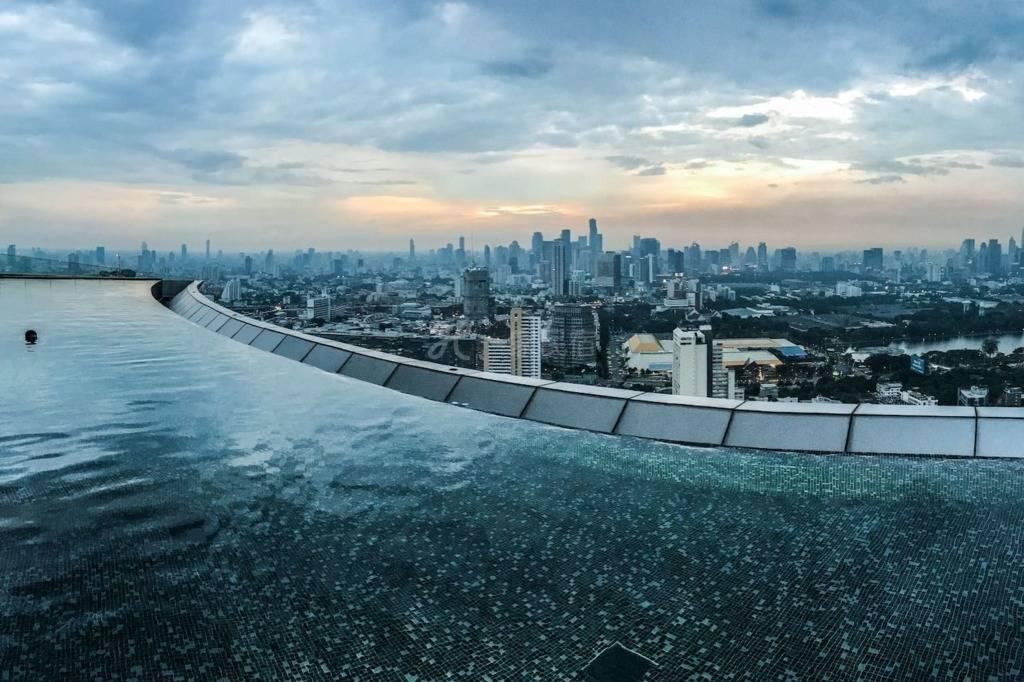 网红泳池*曼谷高级观景公寓 最高无边泳池 素坤逸Thonglor日本区 顶级公寓 轻奢一居