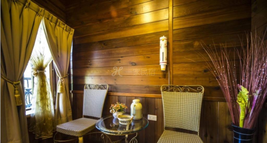 清境--香杉庭园小木屋 双人景观套房