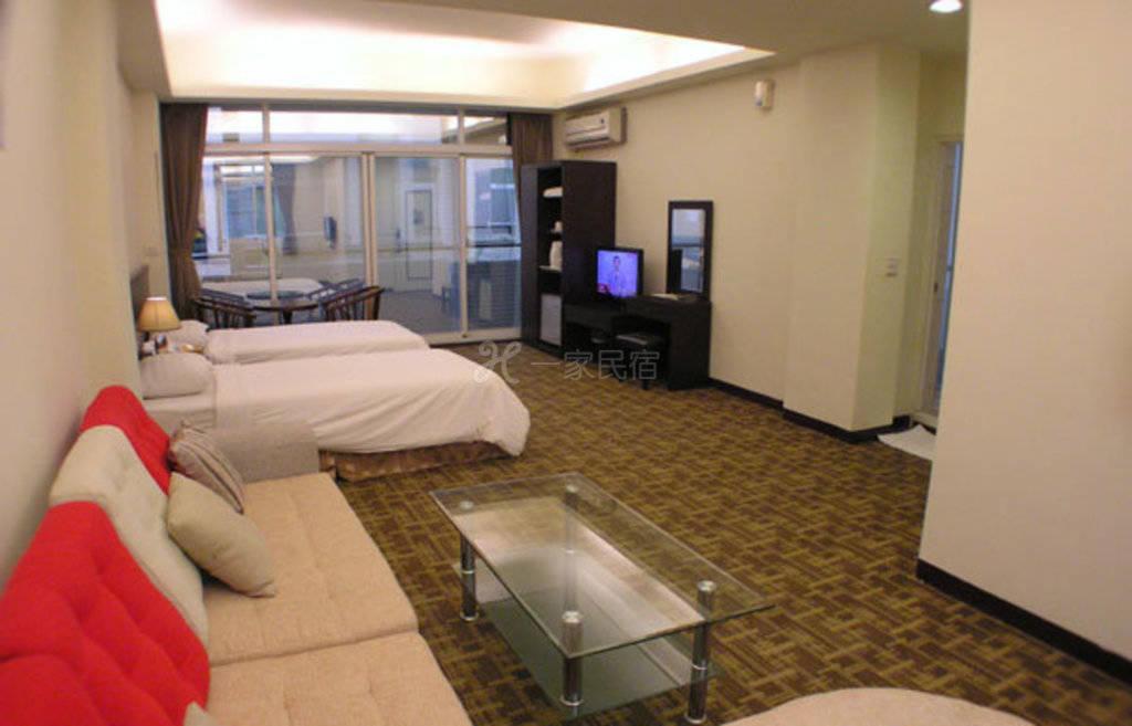 阿里山--阿里山月湾Villa 豪华月湾两人房