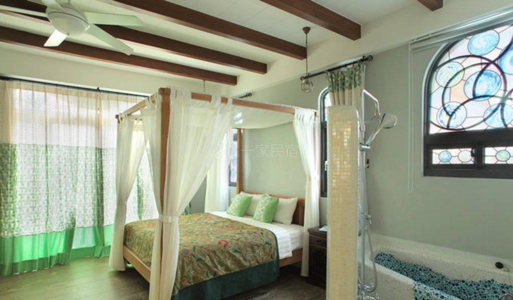 屏东--小琉球星月旅店 双人房