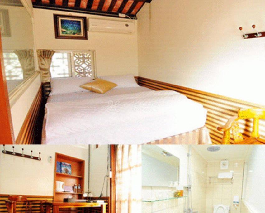 小琉球--小琉球海景三合院特色民宿 左右护龙两人套房