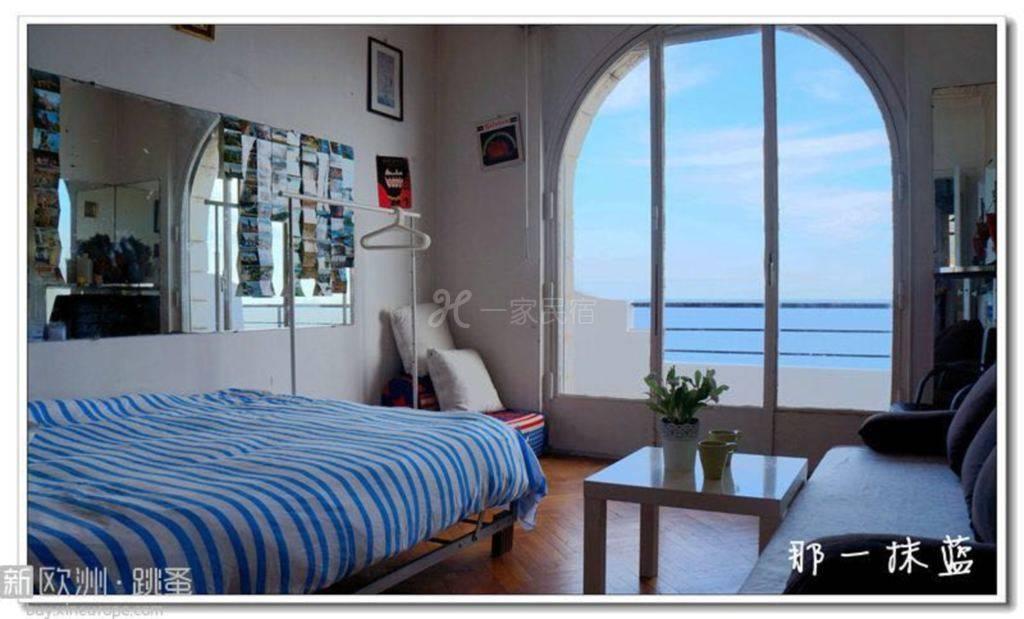 尼斯那一抹蓝家庭旅馆 海景双人间