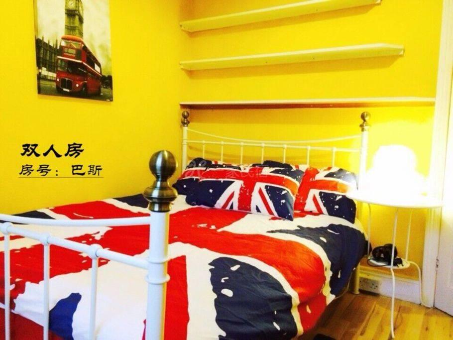 英国伦敦李公馆华人旅馆,双人房