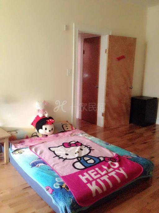 可爱,明亮,便利的,性价比超高的房间