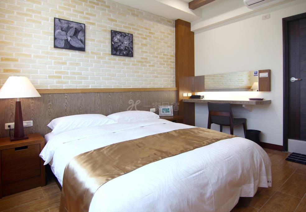THEDAY 乐天旅店_乐天双人房~温馨舒适的两人甜蜜空间
