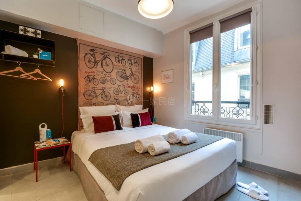 阿凯福温馨公寓-巴黎四区玛莱