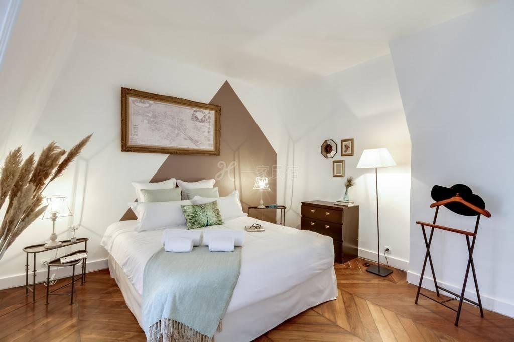 阿凯福六号公寓-巴黎四区玛莱