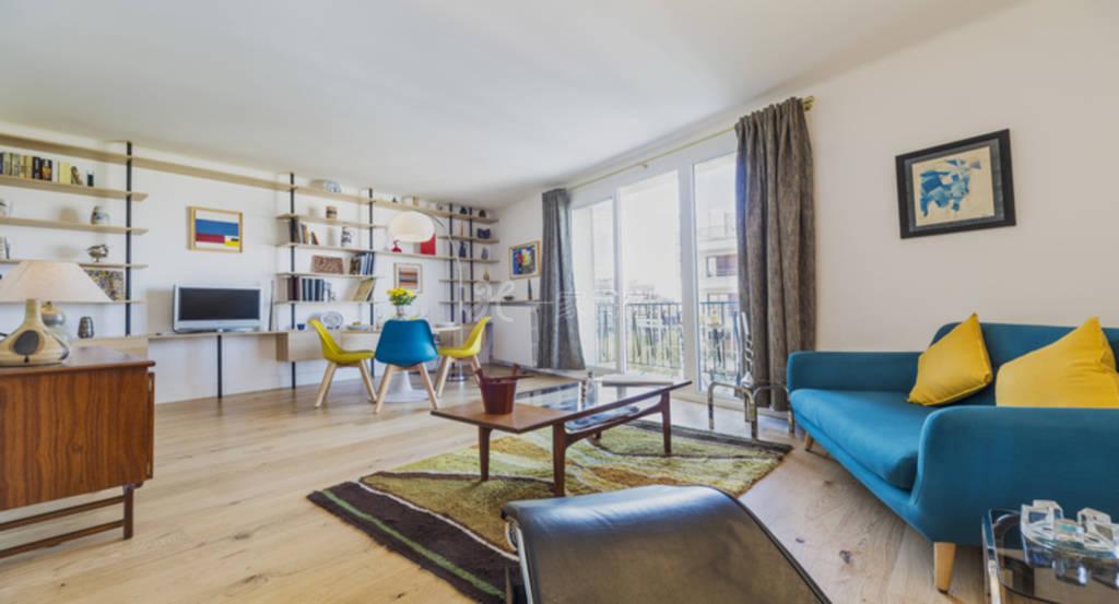 埃菲尔铁塔露台公寓-巴黎16区