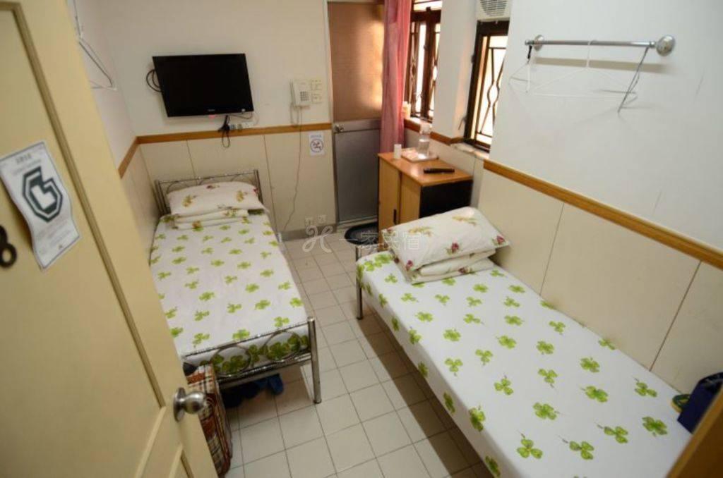 铜锣湾地铁站附近 简单双人房